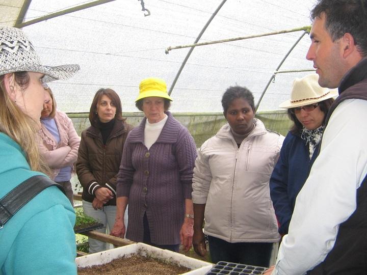 Proyecto Huertos Escolares - Equipo municipal multidisciplinario de coordinadores pedagógicos, nutricionales y de huertos.