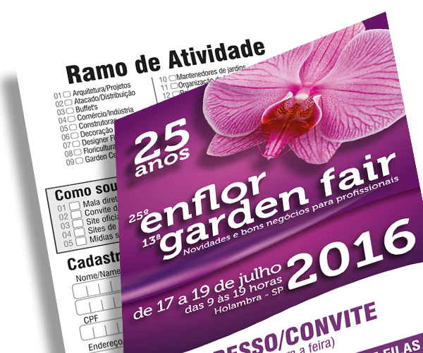Visite o estande da Aue Software na Garden Fair!