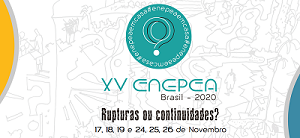 SAVE THE DATE: XV ENEPEA BRASIL 2020