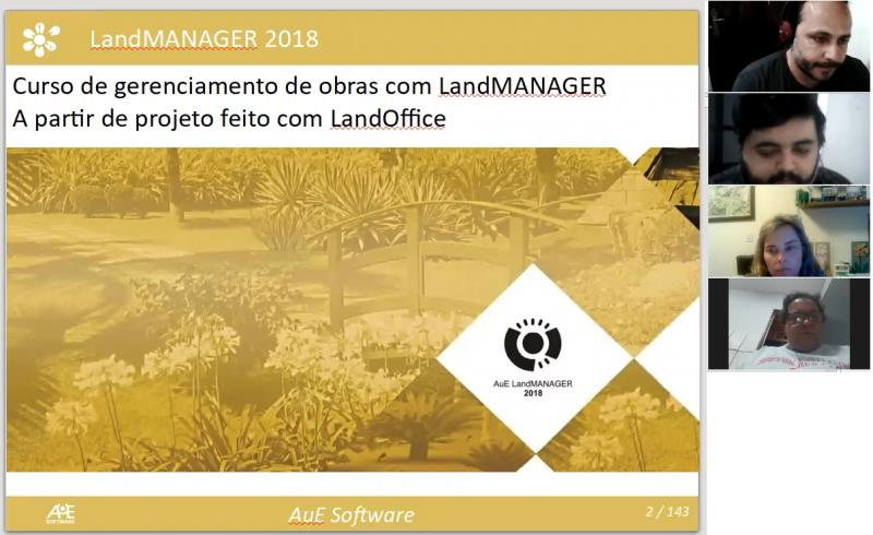 curso online landmanager aue software