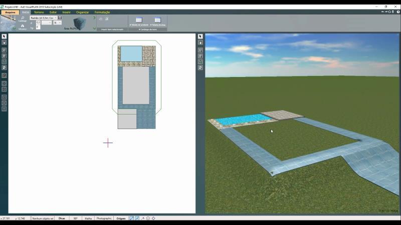 Resultado del material aplicado en el programa VisualPLAN