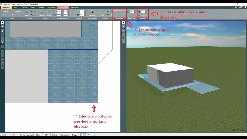 Ajuste de polígono con VisualPLAN