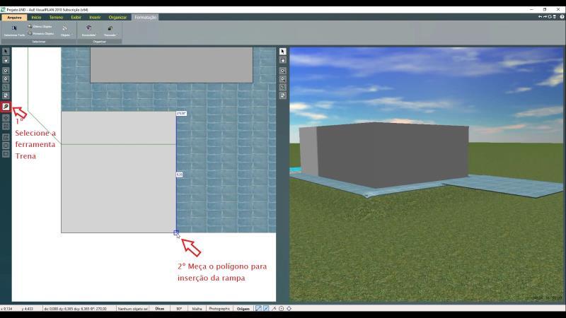 Medición de polígonos con la herramienta de medición en VisualPLAN
