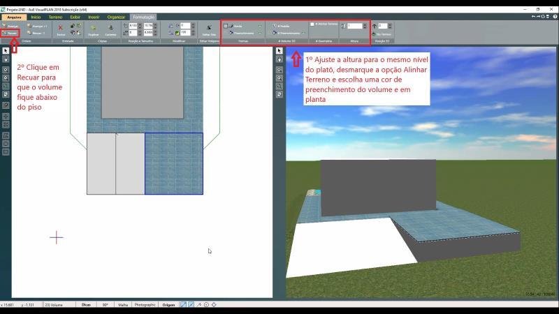 Inserción de relleno en espacio de relleno sanitario con VisualPLAN
