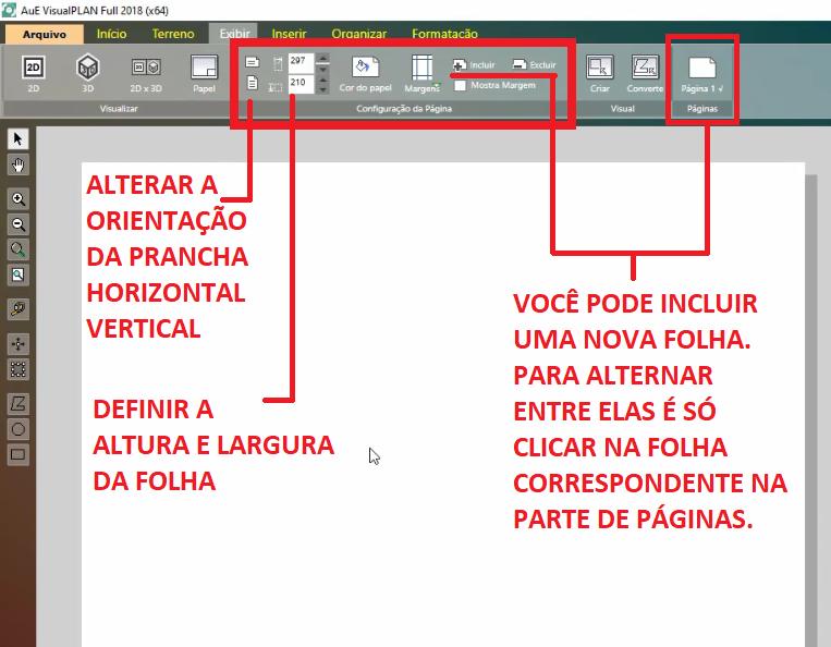 Configuraciones de las paginas